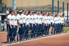 Image result for michigan wolverines softball