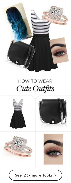 """Cute outfit"" by hdaniel on Polyvore featuring Karl Lagerfeld and Allurez"