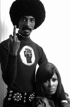 Ike & Tina Turner - scandalous subtext.