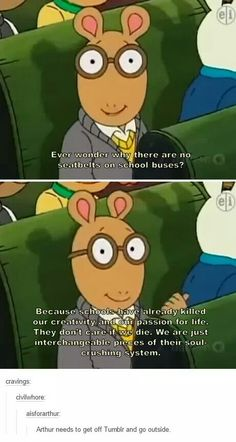 Arthur always spitting gospel lol Funny Quotes, Funny Memes, Hilarious, Silly Jokes, Geeks, Lol, Papi, Just For Laughs, Tumblr Funny