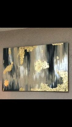 This beautiful 3ft by 4ft canvas painting will look great in any home, office or personal space. Made to order, I am sure to customize any style and color you like. The blend of beautiful colors with an accent of gold leaf appeal to any eye and look great in any space. *All orders are custom made, therefore no refunds are granted. Colors may vary due to monitor settings and picture quality. Color matching may not be exact, but please contact me to better your chances of exact matching for a…