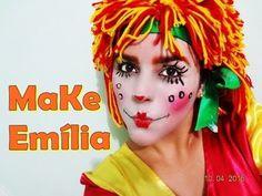 Maravilha: Make da Emília Sítio do PicaPau Amarelo Saiba Mais em http://dicasdemaquiagem.vlog.br/make-da-emilia-sitio-do-picapau-amarelo/