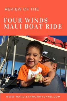Looking for a kid-friendly snorkel boat trip on Maui? Click to read more or pin to save for later. www.marcieinmommyland.com
