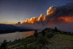 Explosive Destruction of the High Park Fire: June 10th, 2012.  This likely was the day of the greatest fire growth (roughly 30,000 acres in a day were burnt)