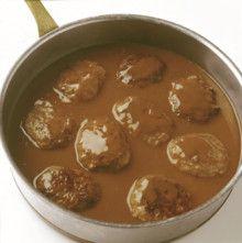 Brun saus til kjøttkaker Dips, Beans, Vegetables, Food, Sauces, Essen, Dip, Vegetable Recipes, Eten