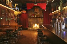 SF Bars with Fireplaces (Not featured: Clift Hotel lobby outside of the Redwood Room)