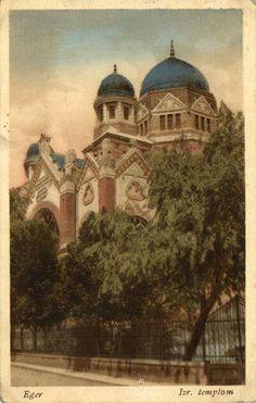 Eger, Zsinagóga 1918, Hibay u. 8. - sajnos már csak a fényképek maradtak