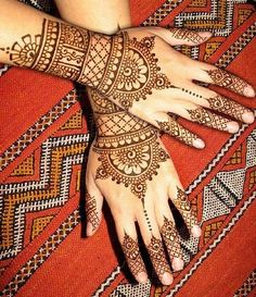 Arabic Mehndi Designs 2014-2015-
