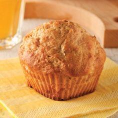 Muffins au yogourt, pêches et bananes - Recettes - Cuisine et nutrition - Pratico Pratiques