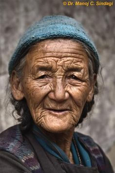 Old Lady of Ladakh