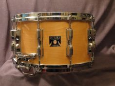 "A Tama super maple 8"" snare in excellent condition:"