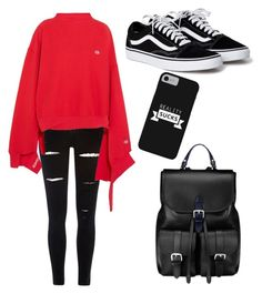 """""""Untitled #89"""" by desireelovesfashion on Polyvore featuring River Island, Vetements and Aspinal of London"""