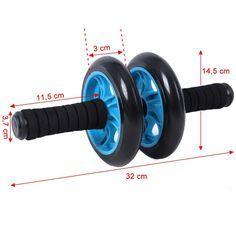Songmics AB Roller Wheel Rueda Para Entrenamiento de Abdominales SPU75P: Amazon.es: Hogar