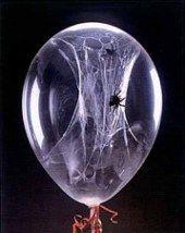 idees halloween ballons araignees