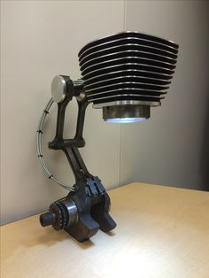 Lamp, Harley Jug, Harley lamp