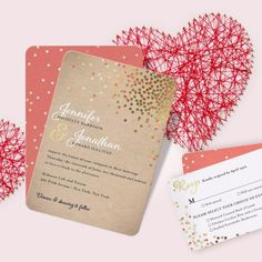 Pucker up with sparkling wedding invites that tug at heartstrings. Shop our Valentine's Day sale and save 20% on everything.