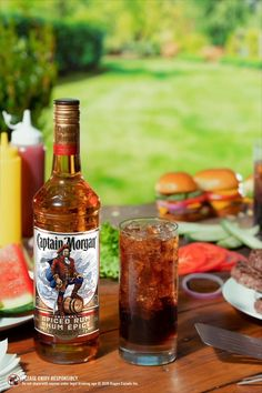 Captain & Diet Cola, a cocktail crafted to remind you just how nice drinks on your own porch can really be. Recipe: 1.5 oz Captain Morgan Original Spiced Rum, 3 oz Diet Cola, Lime Garnish Captain Morgan, Extra Recipe, Nutrition Drinks, Nutrition Apps, Banana Nutrition, Holistic Nutrition, Alcohol Drink Recipes, Mothers Day Brunch, Cough Remedies