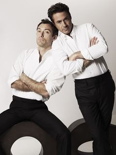 Jude Law & Robert Downey Jr.