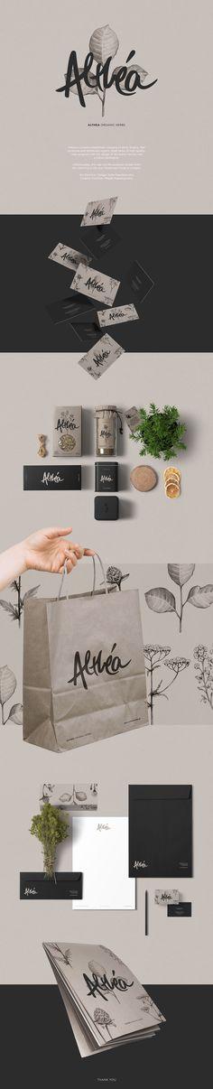 Ознакомьтесь с этим проектом @Behance: «Althea Organic Herbs» https://www.behance.net/gallery/45892457/Althea-Organic-Herbs