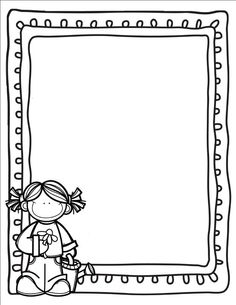 Borders For Paper, Borders And Frames, Doodle Patterns, Felt Patterns, School Frame, School School, School Border, Shape Games, Doodle Frames