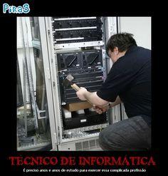 placas motivacionais tecnico de informatica