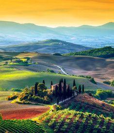 La bella Toscana, Italia. #Travel #Toscana @travelfoxcom #Italy