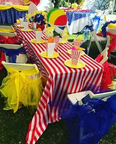 JDL Design and Event Planning's Birthday / Carnival, Circus - Photo Gallery at Catch My Party Carnival Party Foods, Carnival Birthday Parties, Carnival Themes, First Birthday Parties, Carnival Decorations, Birthday Ideas, Dumbo Birthday Party, Circus Birthday, Turtle Birthday