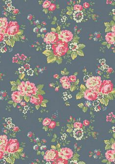 Image shared by Kasandra. Find images and videos about vintage, flowers and wallpaper on We Heart It - the app to get lost in what you love. Vintage Flowers Wallpaper, Flowery Wallpaper, Kawaii Wallpaper, Love Wallpaper, Iphone Wallpaper, Damask Wallpaper, Cath Kidston Wallpaper, Flower Backgrounds, Flower Patterns