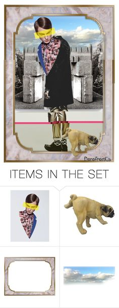 """""""The reason the Royals have Corgies"""" by dorofromks ❤ liked on Polyvore featuring art"""
