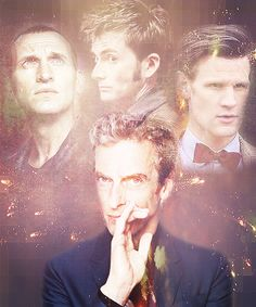 This photo game me chills because it makes it real...the fact that Matt is no longer The Doctor. I'm excited to see Peter as The Doctor. But it hurts to see my Doctor's face in the background, faded, no longer front and center. It hurts that my Doctor has to leave after all the laughs he gave me and all the tears, the warm moments. I feel like I'm losing a friend that I grew to love so deeply. I'll miss you, raggedy man, but I'll be here for you for whatever lies ahead.