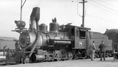 C narrow gauge engine number 8, Photographed: in Denver, Colo., August 30, 1931. Love the bear trap.