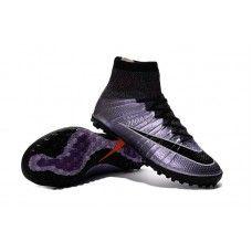 new product d155d 1600b Nike MercurialX TF - Boys  Grade School Urban Lilac Bright Mango Black cheap