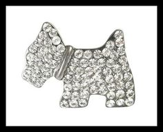 CABOUCHON JEWELLERY - Scottie Brooch