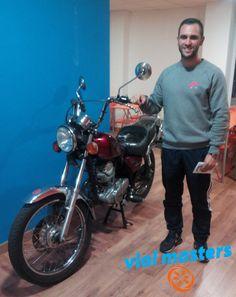 Jorge se sacó el permiso de moto en Autoescuelas Vial Masters. Un tío genial!! Que lo disfrutes!!  Más en http://vialmasters.es
