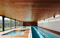 12 Modern Indoor Pools in interior design architecture Category