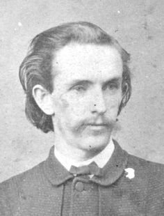 John Surratt circa 1868. Surratt was the son of Mary Surratt and friend of John Wilkes Booth. He was the only Lincoln conspirator who got away. #civilwar