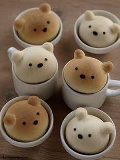 Pães para o café