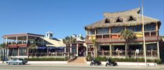 Island Famous - incl. The Spot, Tiki Bar, Rum Shack, and more! | 3204 Seawall Blvd || Casual beachfront dining at The Spot, plus 4 themed bars on site.  Burgers, seafood, milkshakes, specialty cocktails, liquors and more!  #datenight #beachfront #Galveston