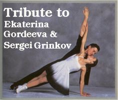 Sergei Grinkov & Ekaterina Gordeeva- a beautiful skating couple until Sergei was taken away at such a young age (28) on Nov. 20, 1995.