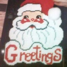 Hey, I found this really awesome Etsy listing at https://www.etsy.com/listing/125175981/santa-greetings-wall-decoration