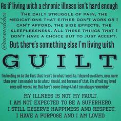Chronic illness is hard enough!