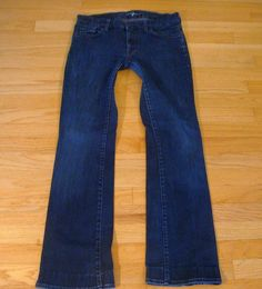 7 For All Mankind Jeans (Women's Pre-owned Kimmie Boot Cut Denim Designer Jean Pants)