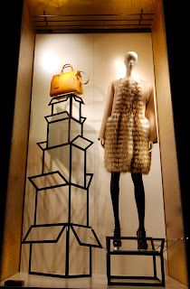MesVitrinesNYC: Fendi and Armani New Collection
