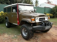 toyota land cruiser FJ45 Troopy,