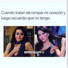 😂😂😂 #moriderisaapp #yasomos6millones Bad Quotes, Funny Quotes, Funny Memes, Mexican Memes, Funny Phrases, Fake Love, Sarcasm Humor, Comedy Central, More Than Words