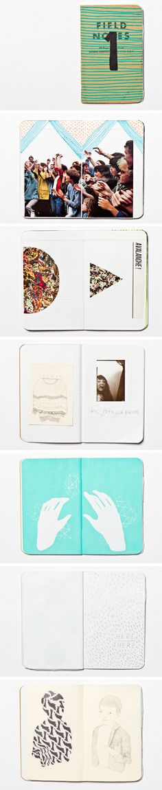 inspiration - tiny notebooks for everyday scrapbooking