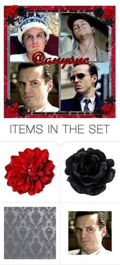 """""""Moriarty Open Icon"""" by ymccurdy ❤ liked on Polyvore featuring art"""