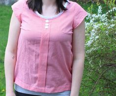 "Make your own ""Sorbetto"" top from the free downloadable pattern."