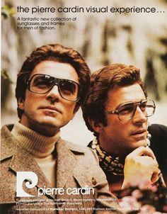 Glasses frames by Pierre Cardin, 1970s.