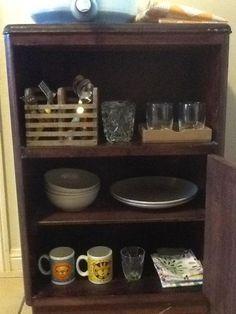 montessori toddler kitchen cupboard shelves